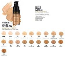 Milani Perfect 2 in 1 Foundation + Concealer oz-Choose From All 19 Colors 3d Mascara, Volume Mascara, Too Faced Foundation, No Foundation Makeup, Milani Conceal And Perfect, Skin Secrets, 1 Oz, Natural Makeup, Concealer