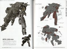beautys and beast metal gear concept art - Buscar con Google