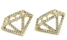 Glam Diamond Studs