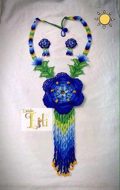 Crochet Necklace, Jewelry, Art, Bonito, Tejidos, Accessories, Art Background, Jewlery, Jewerly