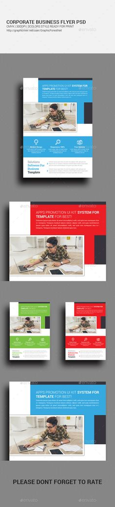 Corporate Flyer  Business Flyers Flyer Template And Template