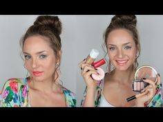 Easy Summer Makeup Tutorial with Drugstore Products Check more at http://letslearnmakeup.com/easy-summer-makeup-tutorial-with-drugstore-products/