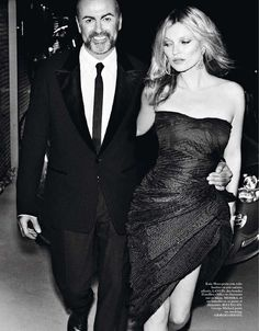 George Michael and Kate Moss Vogue 8