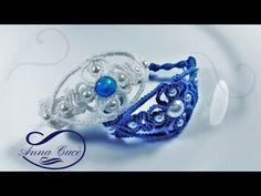 "BRACELET MACRAME ""Aurora "" / Diy tutorial / How to make an elegant bracelet - YouTube"