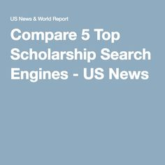 I need help searching for scholarships?
