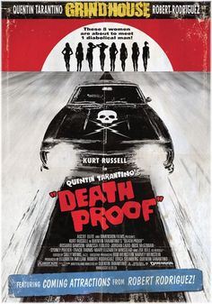Two full length feature horror movies written by Quentin Tarantino & Robert Rodriguez put together as a two film feature. Including fake movie trailers in between both movies. Quentin Tarantino, Tarantino Films, Vanessa Ferlito, Cult Movies, Action Movies, Horror Movies, Indie Movies, Death Proof, Jackie Brown
