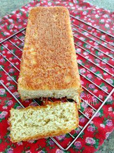 Esse pão com farinha de amêndoas é uma delícia e não leva g´luten