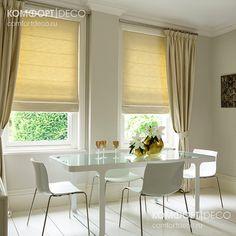 Римские шторы МАКСИ предназначены для перекрытия оконных проемов шириной до 270 см целиком. Устанавливаются на стену, потолок или в проем...