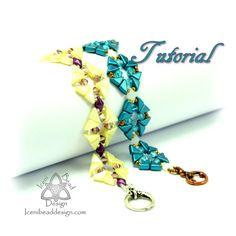 Pdf Tutorial Octavia Bracelet with Tango Beads and crystal
