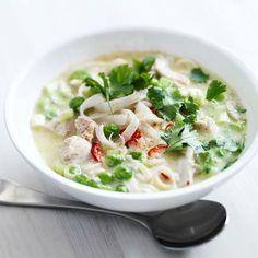 Thaise soep met kip
