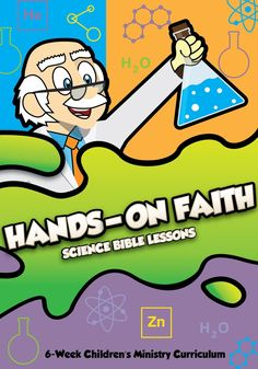 Help kids grow their faith with this fun Hands On Faith Children's Church Curriculum that uses simple science experiments to illustrate the power of having faith in God. Bible Object Lessons, Bible Lessons For Kids, Bible For Kids, Bible Lessons For Children, Bible Science, Bible Activities, Steam Activities, Group Activities, Earth Science