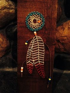 Dream catcher with feathers string art by Marshratt on Etsy