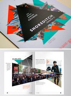 50 Beautiful Printed #Brochure Designs For Your Inspiration via hongkiat.com