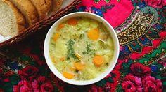 Lemon and Strawberries: Polish sour cucumber soup (Zupa ogórkowa)