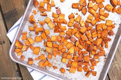 Spicy Roasted Sweet Potatoes http://healthygrocerygirl.com/spiced-sweet-potatoes/