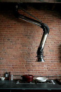 Industrial Kitchen - Murdock Young via Remodelista