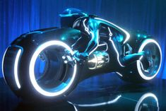 If you have the money, you can own a real, fully operational Tron Legacy Light Cycle. Tron Legacy, Futuristic Motorcycle, Motorcycle Bike, Motorcross Bike, Tron Art, Tron Light Cycle, Tron Bike, Tron Uprising, Bikes For Sale