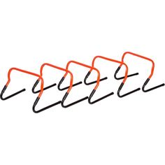 Trademark Innovations Adjustable Speed Training Hurdles