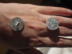 Brincos  Moeda de 2$50 escudos
