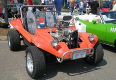 Not really built for the dirt, but where else should a Glass Body Buggy go? Vw Beach, Beach Buggy, Volkswagen Bus, Volkswagen Beetles, Vw Camper, Manx Dune Buggy, Vw Engine, Dune Buggies, Mini Bike