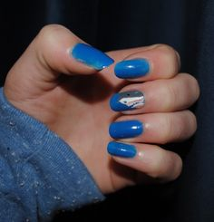 Great White Shark Nails