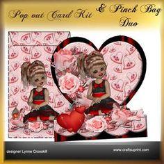 Popout Card & Pinch Bag Duo - Cutie