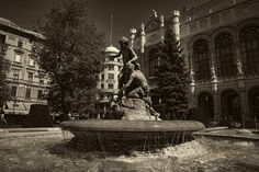 The Fountain of Water Pouring Children - null Statue Of Liberty, Fountain, Cityscapes, Children, Water, Travel, Black, Statue Of Liberty Facts, Young Children