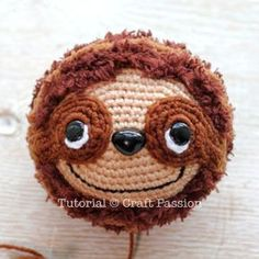 Get free Sloth amigurumi pattern, Sill, crochet from a medium weight acrylic yarn & fuzzy yarn. Pattern & tutorial come with video to show you the process. – Page 2 of 2