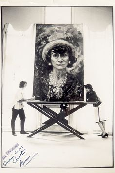 COCO CHANEL... a new exhibition opening at the London College of Fashion (LCF) next month. Portraits of the designer taken by her friend, Californian artist Marion Pike