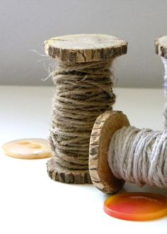 Klosjes maken met boomstam