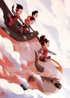 By eychristine on Tumblr Cute Nicknames, Filipino Culture, Ghibli Movies, Legend Of Korra, Freelance Illustrator, Avatar The Last Airbender, Zine, Memes, Storytelling