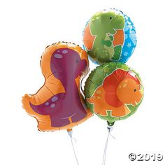 Planning a Little Dino birthday party? Add these mylar balloons to your birthday party supplies for adorable additions to your party decorations. Our Little ...