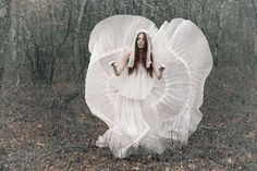 Nature Goddess Editorials - The Alisa Frolkina Mojeh Magazine Photoshoot is Utterly Bewitching (GALLERY)