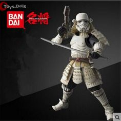 17cm Star Wars New Star Wars Action Figures Storm trooper Darth Vader Boba Fett Sic Samurai Taisho Realization Anime