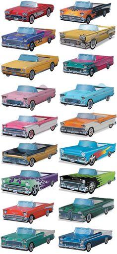 BowlingShirt.com - Cardboard Cars 20-Pack $33.95
