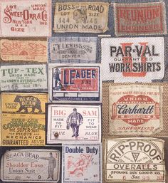 We are a clothing labels and woven labels supplier,which can custom clothing labels and custom woven labels,we can supply the highest quality for you. Vintage Tags, Vintage Labels, Nose Art, Custom Woven Labels, Retro, Etiquette Vintage, Vintage Patches, Fabric Labels, Vintage Packaging