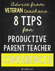 Preparing for Parent Teacher Conferences