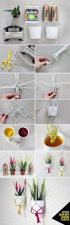 25 Creative DIY rope projects to craft at home - Craftionary