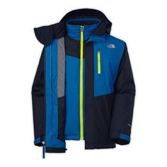 The North Face Boys' 2014 Reversible Sparker Triclimate Jacket