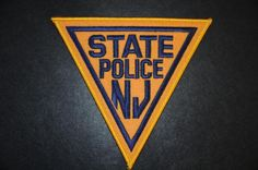 New Jersey State Police Patch (Current Issue) - States Display