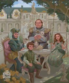 Tyrell Family circa 291 AC #GameofThrones