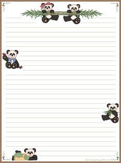 free printable stationary