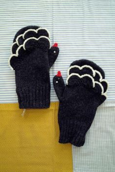 cikolata - swan gloves