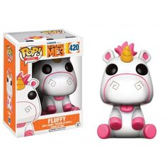 Despicable Me 3 Fluffy Pop! Vinyl Figure from Funko. Perfect for any Company_Funko Product Type_Pop! Vinyl Figures Theme_Despicable Me / Minions fan! Disney Pop, Disney Pixar, Funk Pop, Pop Vinyl Figures, Pop Action Figures, Pop Figures Disney, Anime Figures, Pop Figurine, Figurines Funko Pop
