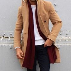 How to Wear a Tan Coat (265 looks) | Men's Fashion