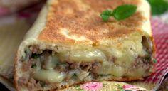 Crepes turques a la viande hachée, Gozleme Bonjour tout le monde, A la maison, et depuis que j...