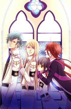 Kamigami no asobi - to boring for me - a regular girl gets transported into a…