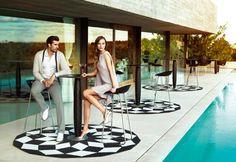 VONDOM: Vases cocktail table