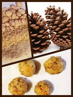 100x100SinGluten: Mazapan de piñones sin gluten / Panellets