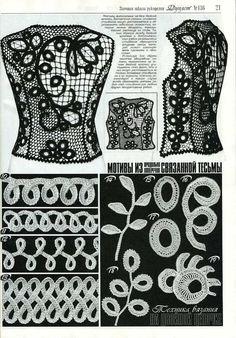 Irish Lace Flowers Crochet